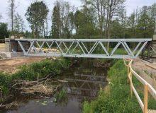 Fribärande fackverksbalk BT-30 för betongbroar och andra tyngre betongkonstruktioner