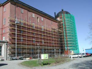 Fasadställning_Uppsala_Slott