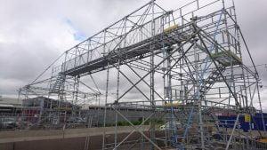 HAKI:s HBS gångbro med spännvidd 12,5 meter